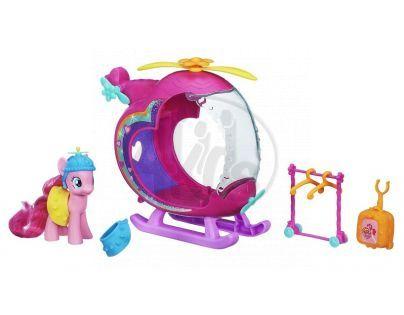 My Little Pony Rainbow Pinkie Pie s helikoptérou
