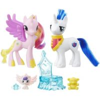 My Little Pony Set 2 poníků s doplňky Princess Cadance a Shining Armor