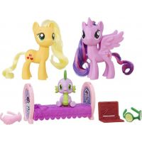 My Little Pony Set 2 poníků s doplňky Princess Twilight Sparkle a Applejack