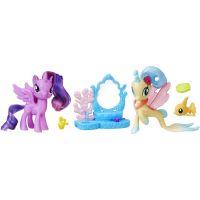 My Little Pony Set 2 poníků s doplňky Princess Twilight Sparkle a Princess Skytar