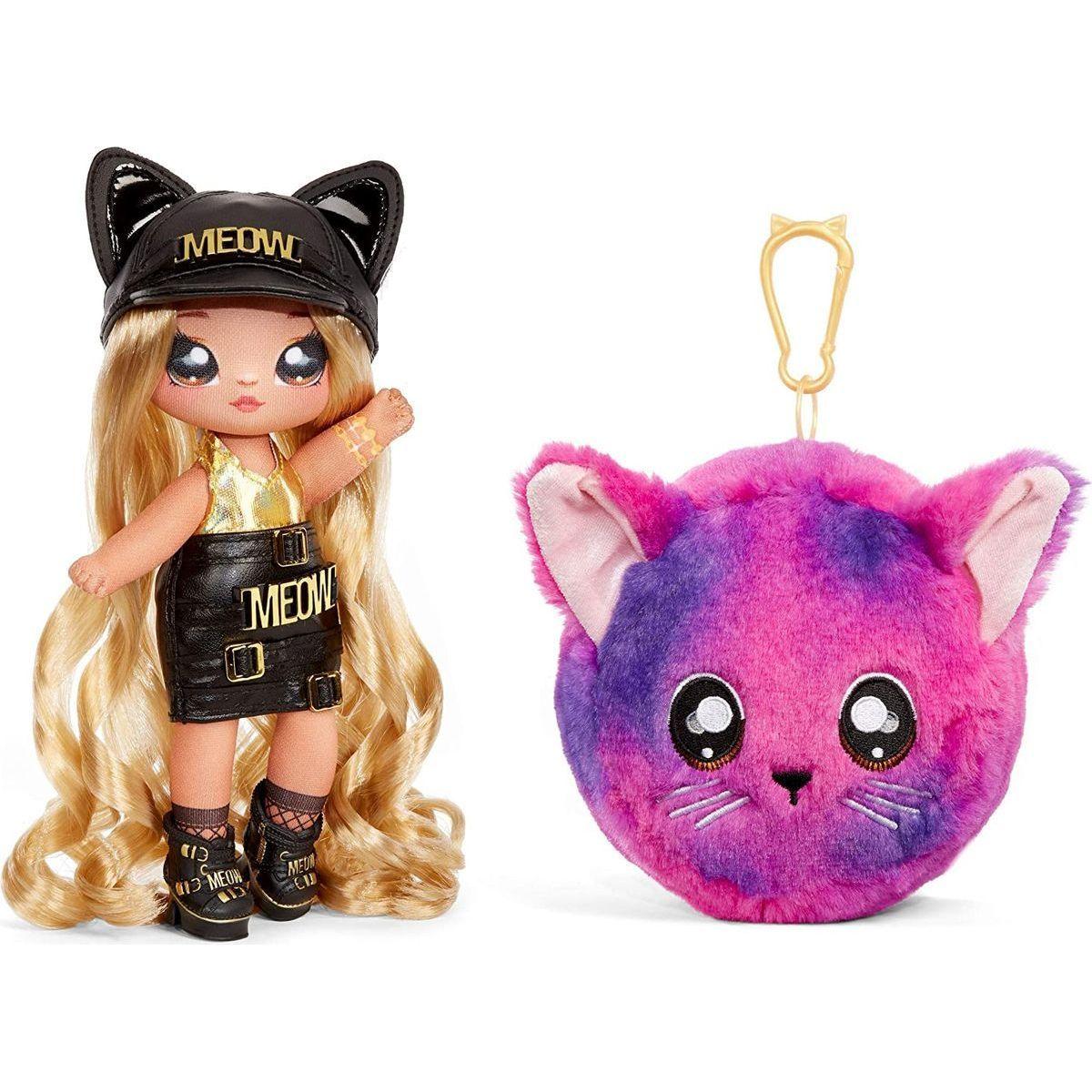 Na! Na! Na! Surprise Bábika v plyšovom zvieratku 2v1, séria 3 Sasha Scratch
