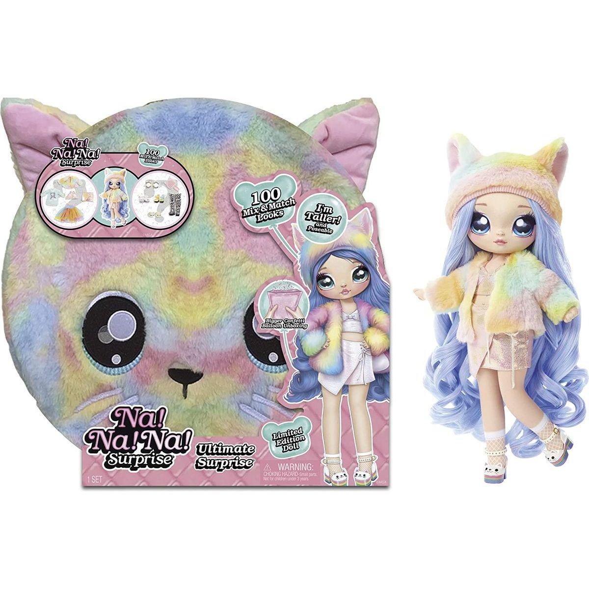 Na! Na! Na! Ultimate Surprise Set s prekvapením as bábikou Rainbow Kitty