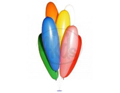 Globos Nafukovací balonek Zeppelin 70 cm mix 9 barev 100ks