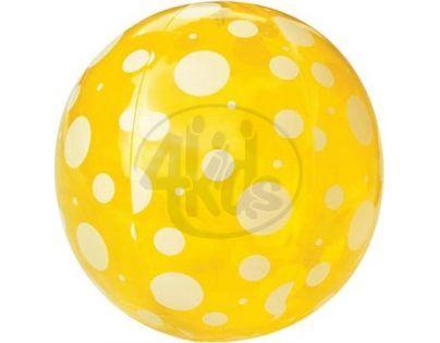 Bestway Nafukovací míč průhledný 51cm - Žlutá