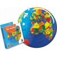 Caly Nafukovací globus Zeměkoule 30 cm 2