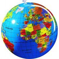 Caly Nafukovací globus Zeměkoule 30 cm