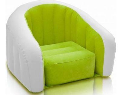 Intex 68597 Nafukovací křesílko - Zelená