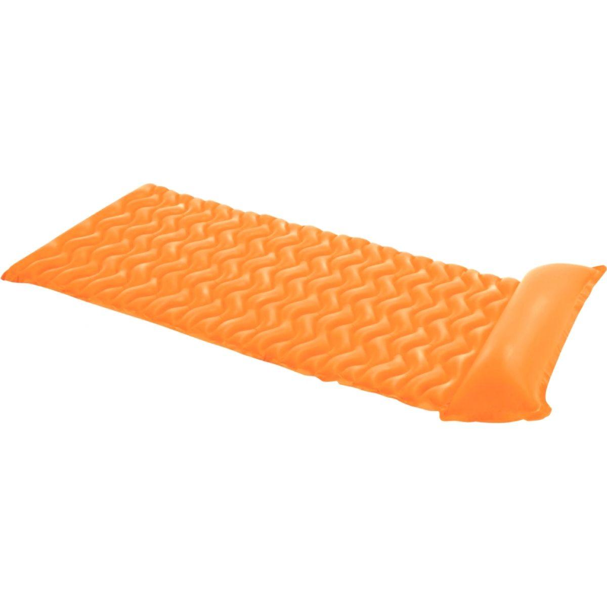 Intex 58807 Nafukovací matrace rolovací 229x86cm - oranžová
