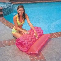 Intex 58807 Nafukovací matrace rolovací 229x86cm - Růžová 3