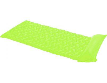 Intex 5880 Nafukovací matrace rolovací - Zelená