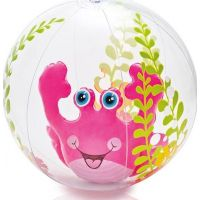 Intex 58031 Nafukovací míč akvárium 61cm - Růžová