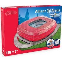 Nanostad 3D Puzzle Alianz Arena - Bayern Munchen