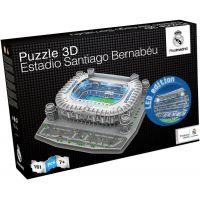 Nanostad 3D puzzle s LED Real Madrid Santiago Bernabeu