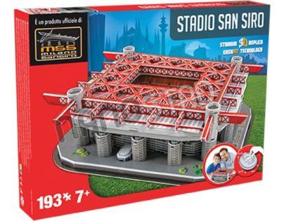 Nanostad 3D Puzzle San Siro Milan's packaging