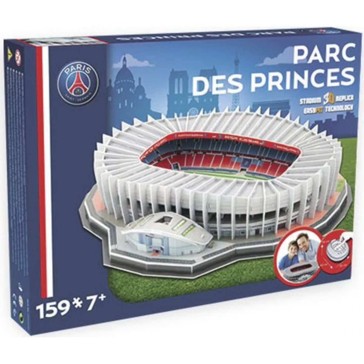 Nanostad Puzzle 3D France Paris Saint Germain