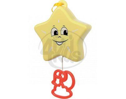 Simba Natahovací hudební hračka 12 cm - Hvězdička