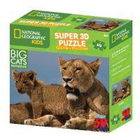 Prime 3D National Geographic Kids 3D Puzzle Lev 63 dílků