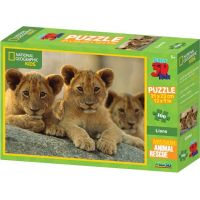 Prime 3D National Geographic Kids Puzzle Lvi 100 dílků