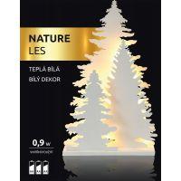 Marimex Nature Les bílý dekor 2