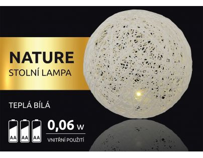 Marimex Nature Stolní lampa