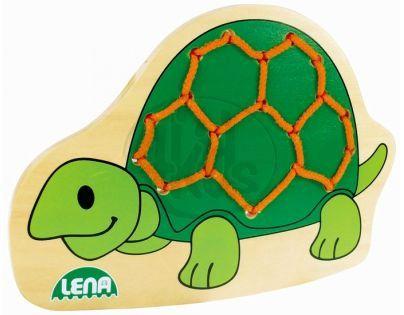LENA 32074 - Navlékací obrázek, želva