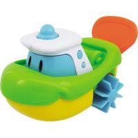 Navystar Natahovací hračka do vody - zelená loď