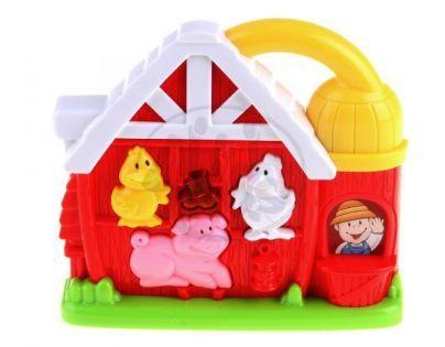Navystar Veselý dům hudební hračka - Farma