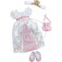Nelli Dreams Oblečení na princeznu bílé