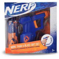 EP Line kosmetika Nerf dárková sada vodní pistole se sprchovým gelem 200 ml