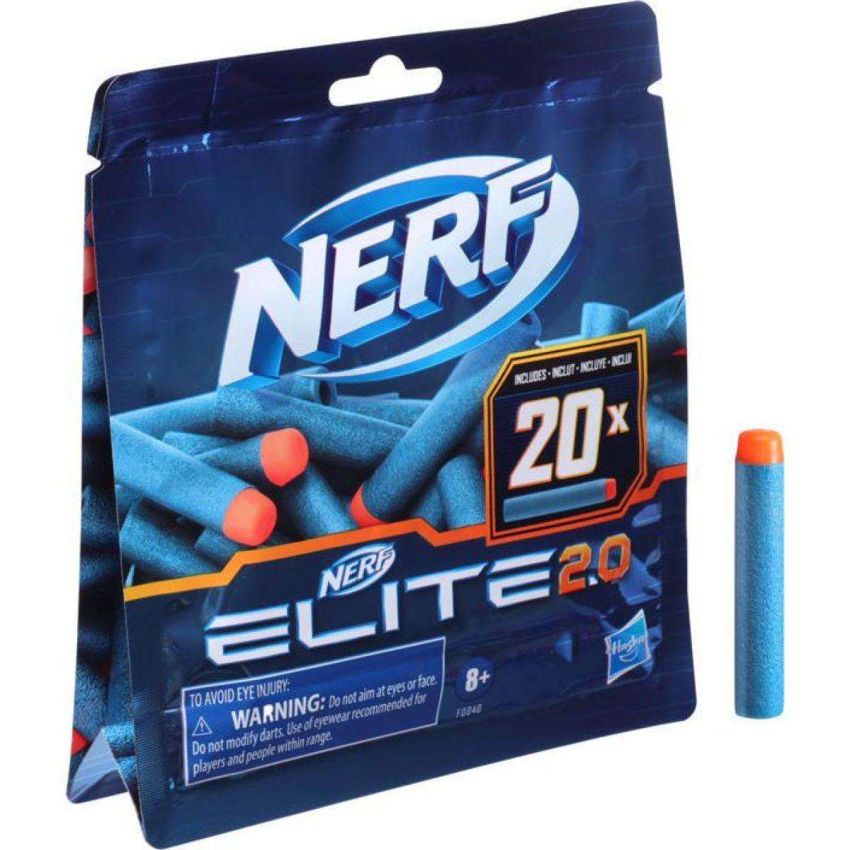 Nerf Elite 2.0 Sada 20 náhradných šípok