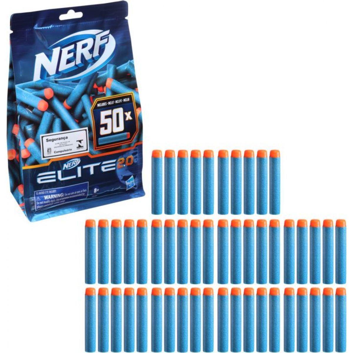 Nerf Elite 2.0 Sada 50 náhradných šípok  - Poškodený obal