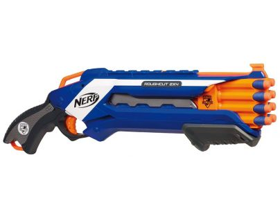 Nerf N-Sstrike Elite Rough Cut 2x4 Hasbro A1691 - Modrá