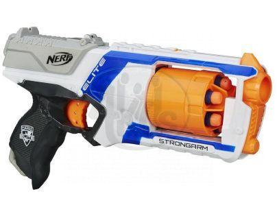 Nerf N-Strike Elite Pistole s bubínkovým zásobníkem - Bílá