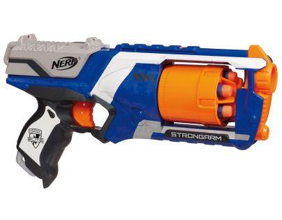 Nerf N-Strike Elite Pistole s bubínkovým zásobníkem - Modrá
