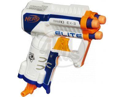 NERF Elite Kapesní Pistole S 3 Hlavněmi (A1690)