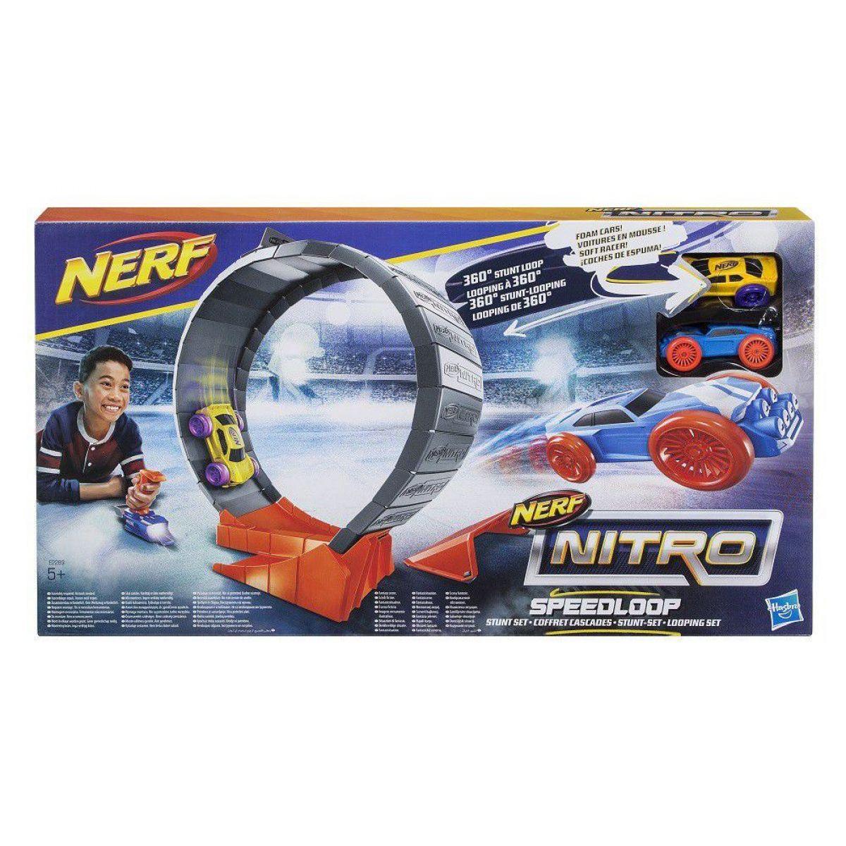 Nerf Nitro Speedloop překážka - Poškozený obal