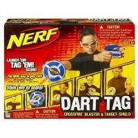 Hasbro 61877 - NERF - zbraň STRIKEFIRE, terč / štít, brýle VISION G 2
