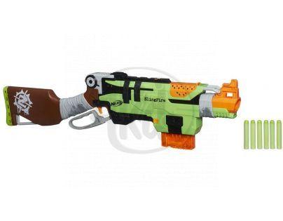 NERF ZOMBIE puška s pákovým nabíjením (A6563)