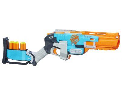 Hasbro Nerf Zombie pistole střílí 3 šipky najednou Sledgefire