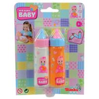 Simba New Born Baby S 5568627 - 2 lahvičky pro panenky