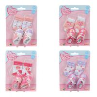 New Born Baby Ponožky a botičky pro panenky 2