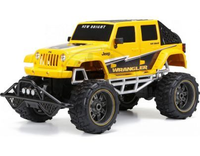 New Bright RC auto Džíp 1:8 - Žlutá