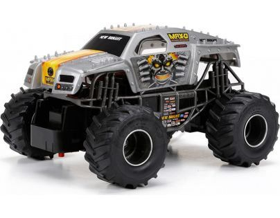 New Bright RC Auto Monster 1:24 - Šedá