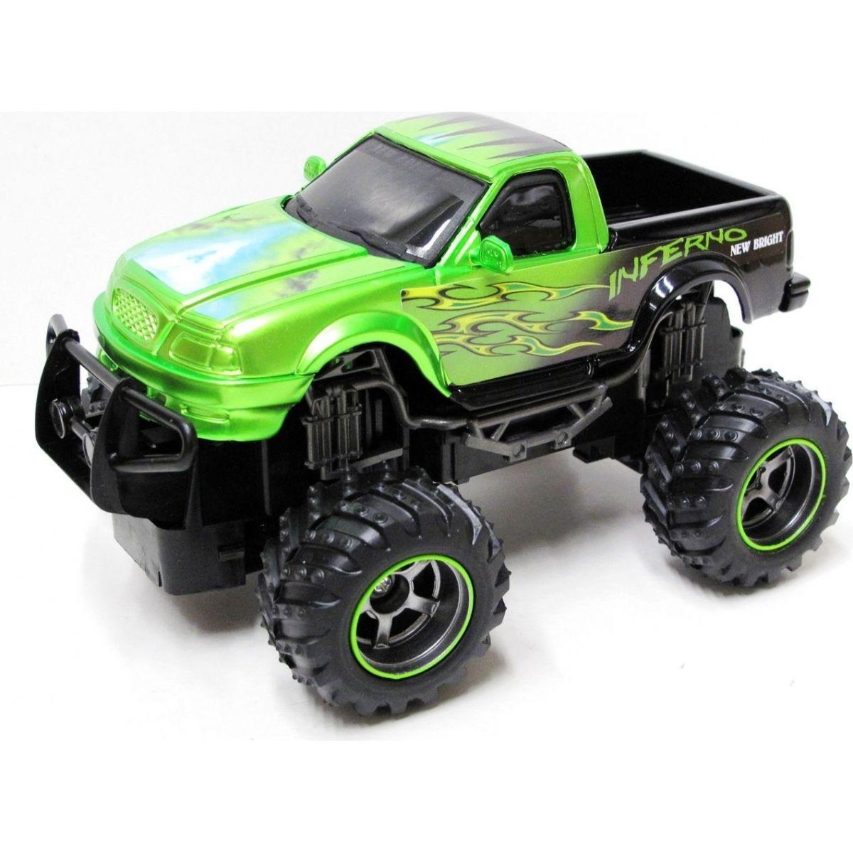 New Bright Turbo Dragons Pick Up 1:24 - Zelená