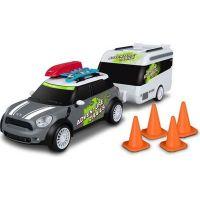 Nikko RC Auto Mini Countryman s karavanem šedý