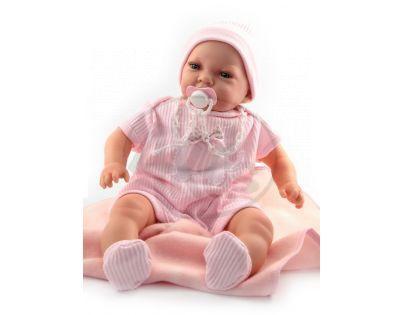 Nines 30771 - Mi Bebito Bodi v růžovém, včetně dečky
