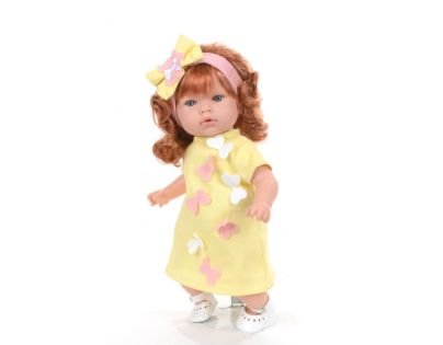 Nines panenka Tita Borboleta žlutá mechanická 45 cm