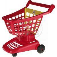 Ecoiffier 1220 - Nákupní vozík 42 cm, 2 druhy - Červená