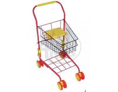 Hm Studio Nákupní vozík kovový - Červená