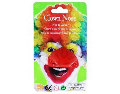 Nos klaun plastový
